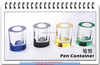 Wholesale exquisite crystal pen holder,Crystal Pen Container