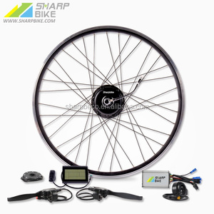 36V 250W electric e-bike conversion kit with LCD display