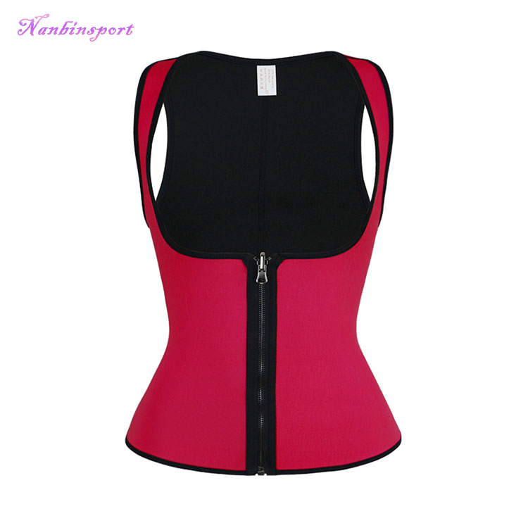 Custom Private Label Hot Full Vest Zip Waist Cincher Tummy Perfect Body Shaper
