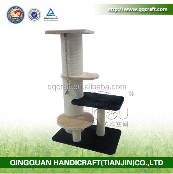 QQ catree Factory cat trees cheap image durable scraching post for cat