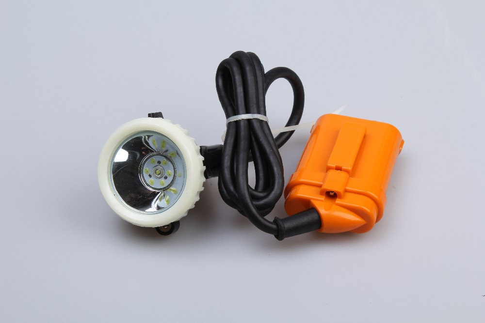 KJ3.5LM LED lampara mineral mining safety cap lamp