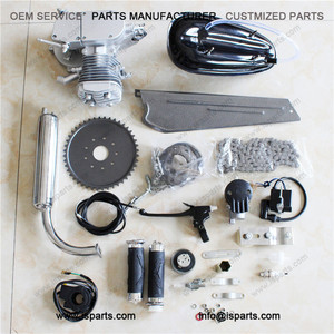 Bicycle Engine Kit Motorized Gas Motor Engine 80CC 2-Stroke Gas Engine Motor Kit