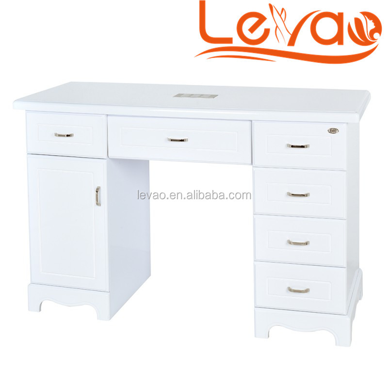 Levao Manicure Table White Nail Art Table Used In Nail Tables For ...