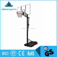 Wholesale Movable BasketbalL Games Stand Set Basketball Backboard