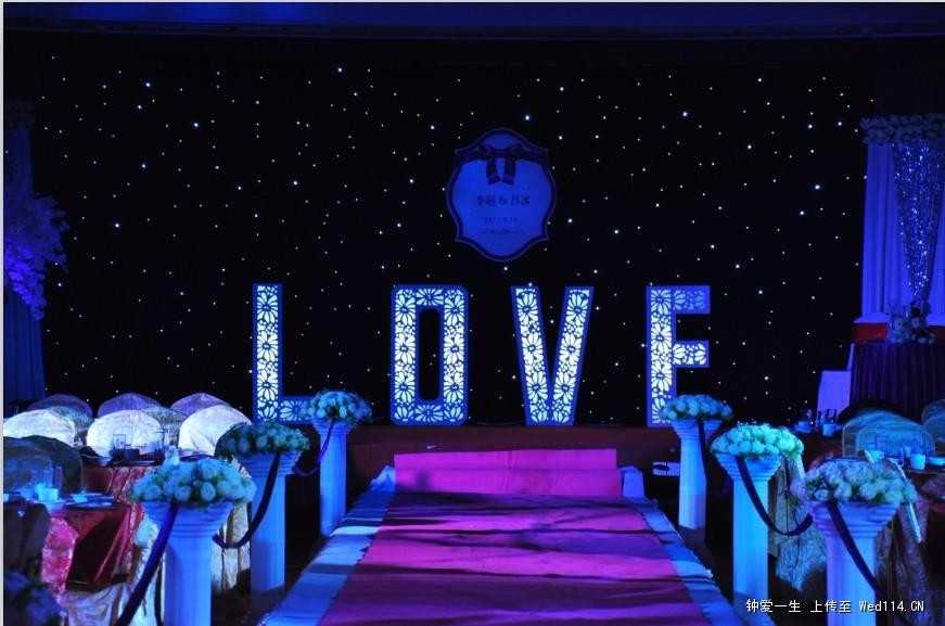 4 6m Blue And White Led Cloth Led Star Curtain For Stage