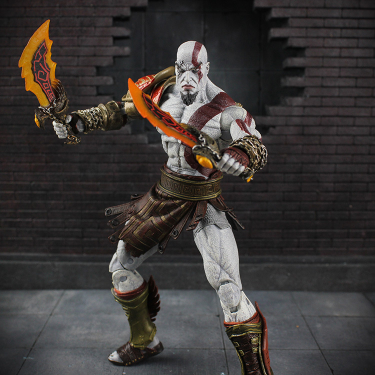 Eterm Custom Design NECA GOD OF WAR Kratos Flexible Action Figure