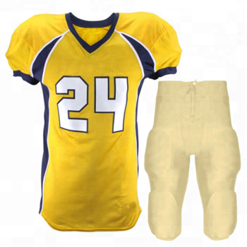 Sublimated american football jersey