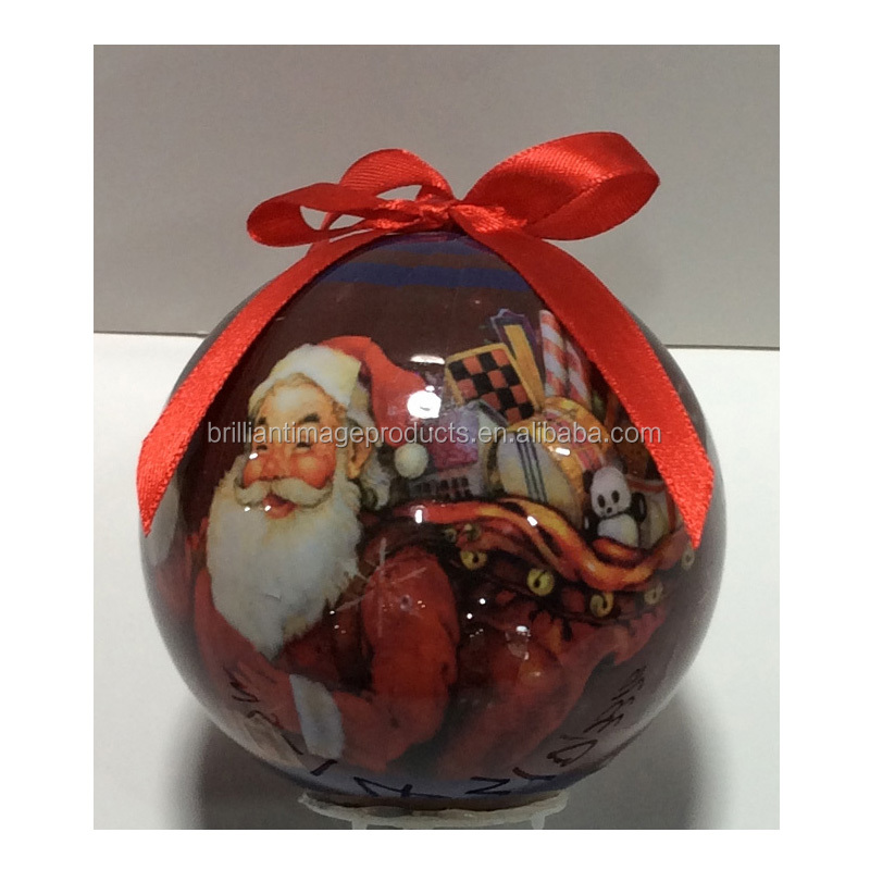 Factory Wholesale Customize Pattern Foam Ornament Decoration Christmas Ball