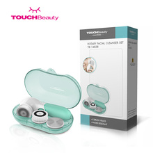 TOUCHBeauty TB14838 Waterproof Facial Cleansing Spin Brush Set
