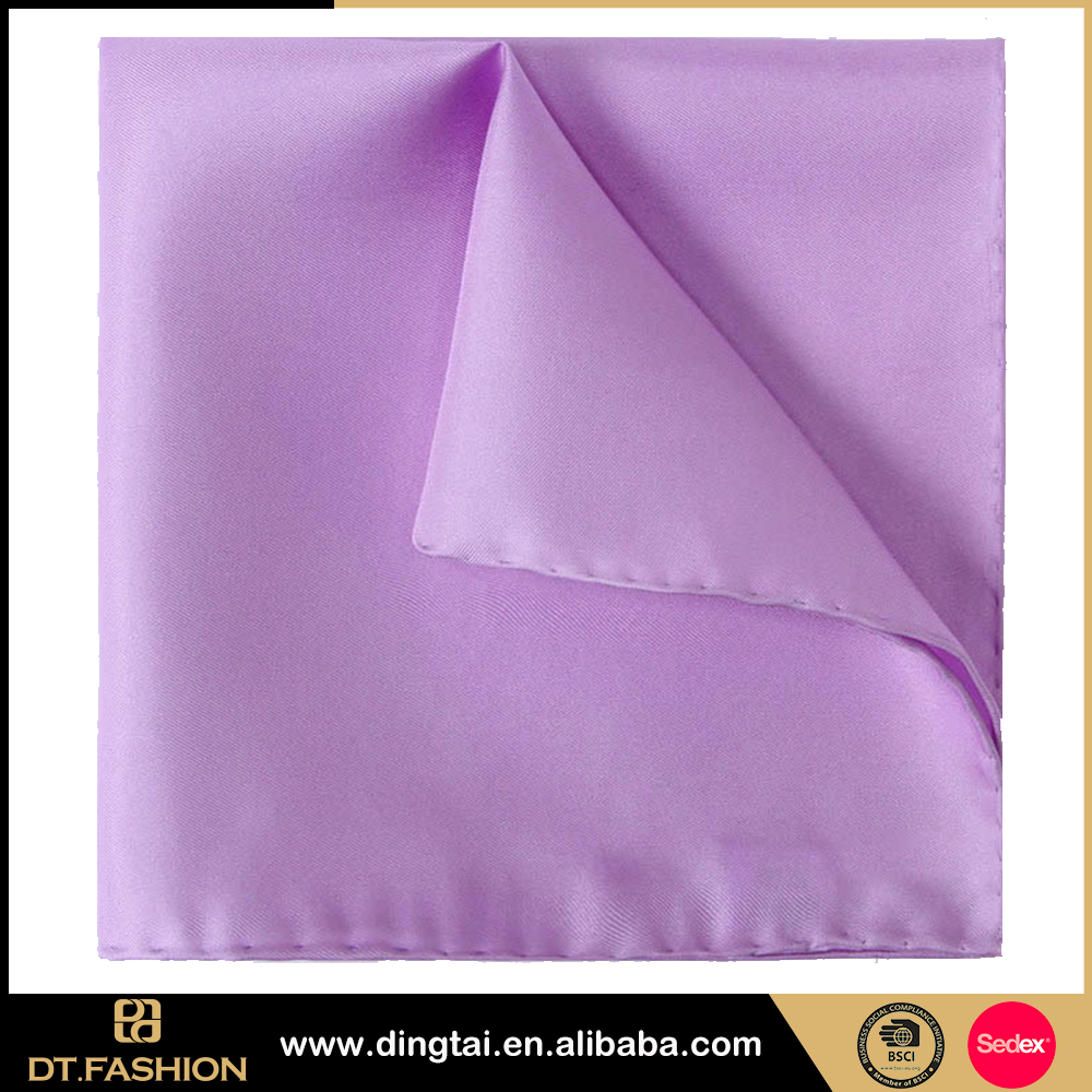 Popular handkerchief wonderful printing silk pocket square