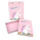 Wholesales Unicorn Print Cardboard Clothes Silk Packaging Gift Box With Bags