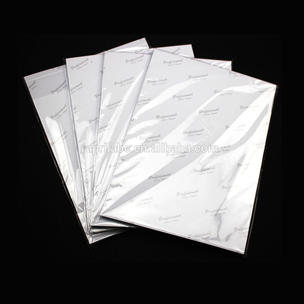 High Glossy Inkjet Photo Paper Professional Supplier Picture Paper Factory Price 4X6 4R Fine RC Photo Paper