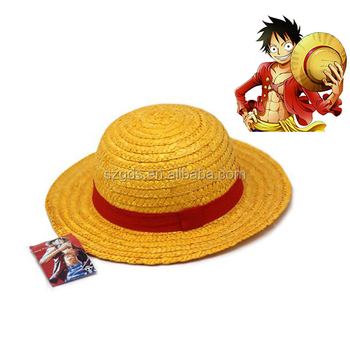 Grosir Seksi Model Satu Kepingan Topi Monyet D Luffy Straw Topi Cosplay Animasi Buy Satu Kepingan Topi Topi Jerami Luffy Straw Topi Product On