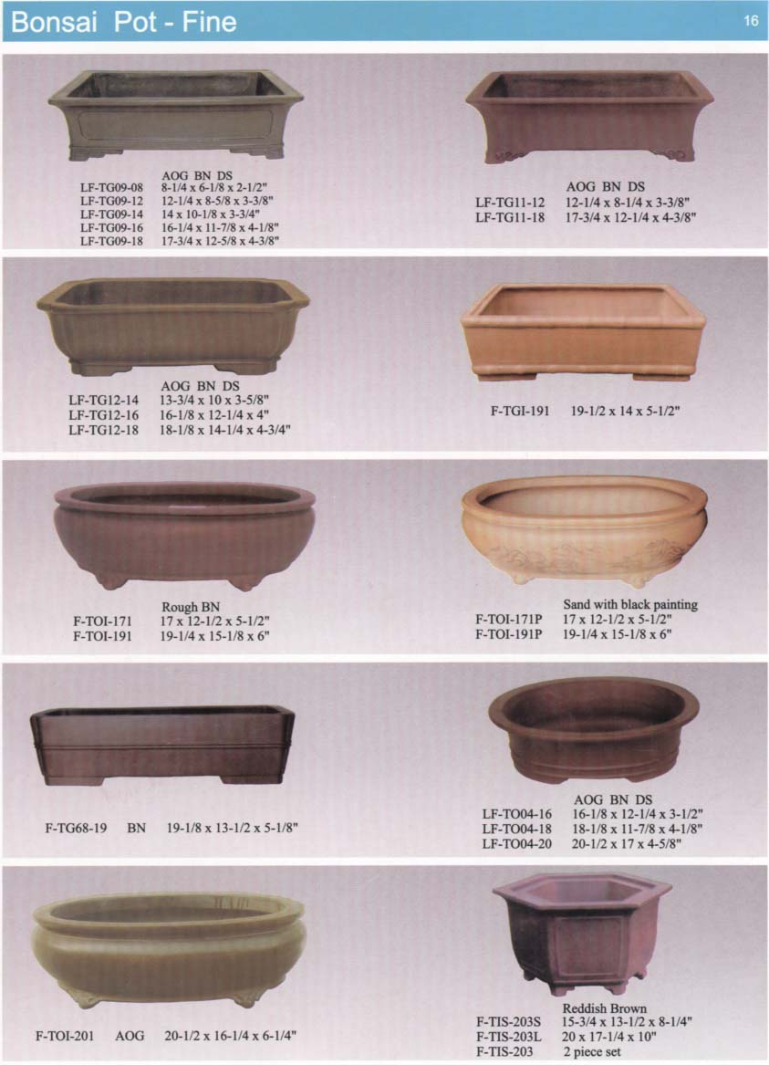 Yixing Purple Sand Bonsai Pot