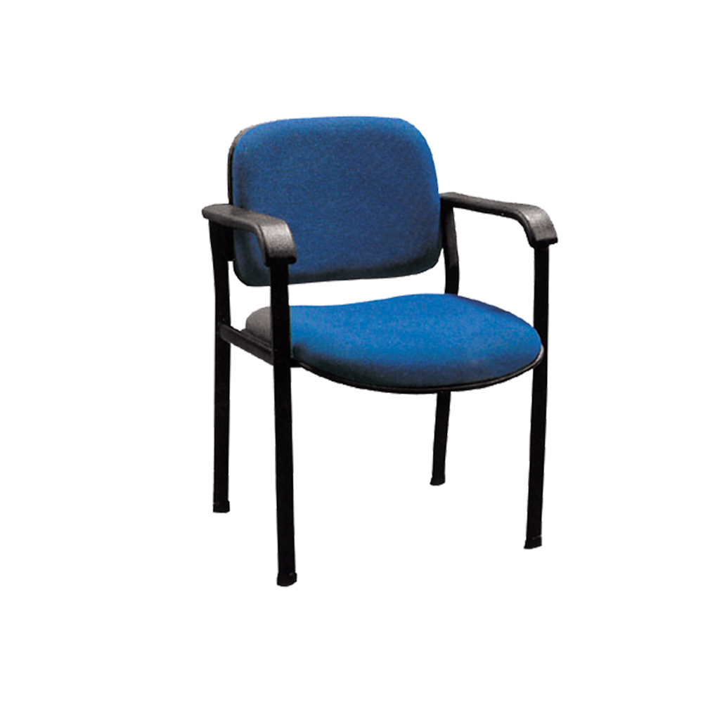 Office furniture chair visitor chairs no wheels fabric visitor chair with plastic back