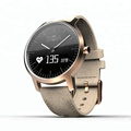 SMA-A1 smart watch with 2 time zone, Switzerland movement waterproof hand watch