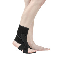 Adjustable Ankle Support Strap Protection Elastic Sports Bandage Drop Foot Brace