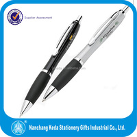 Promotional Elegant Metal Ballpen With Silver Fittings