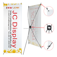 Hot Sale Outdoor Display Advertising X Banner Stand
