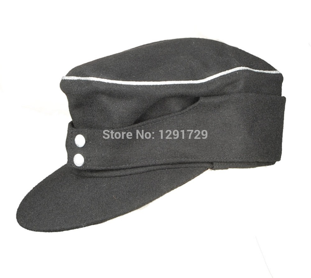 Get Quotations · WWII GERMAN WH ELITE OFFICER M43 PANZER WOOL FIELD CAP  L-1344 1761faade8c4