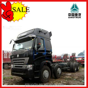 howo series tractor trailer made in china