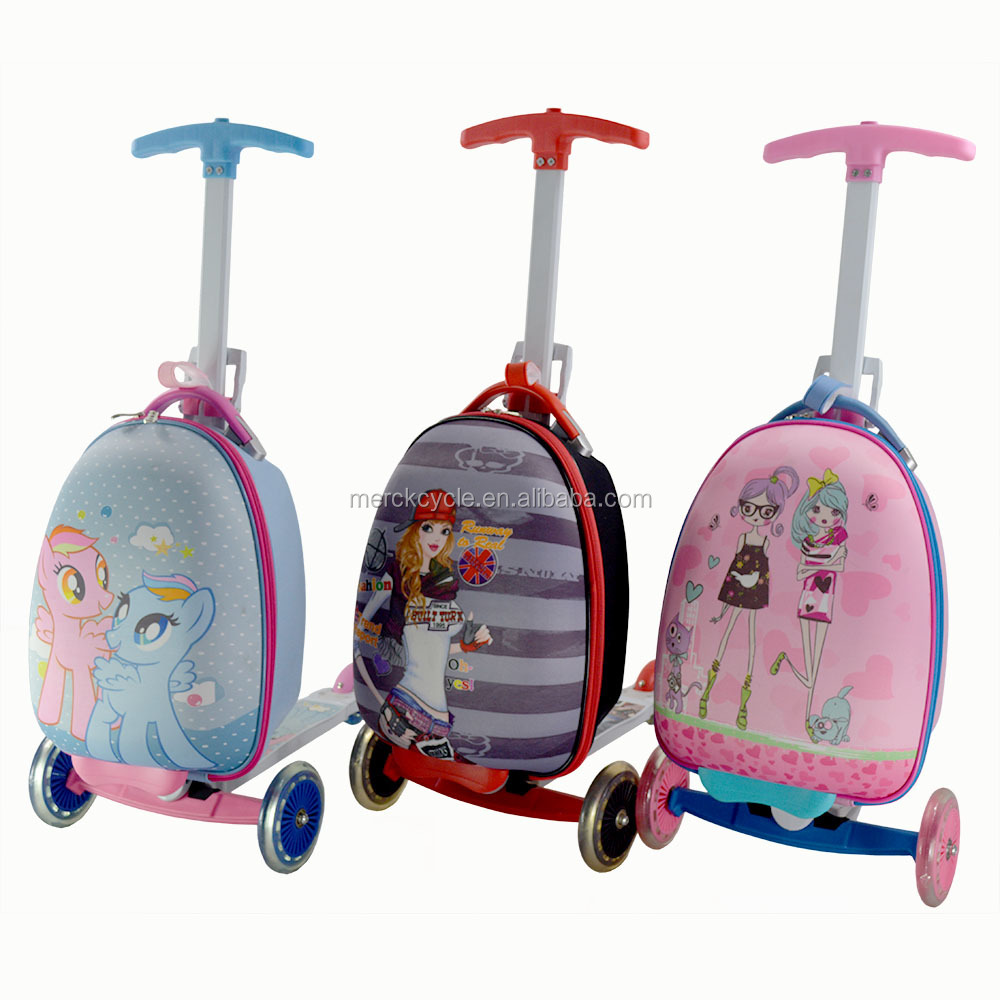 Scooter Suitcase Kids | Luggage And Suitcases