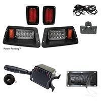 DELUXE Street Package Light Kit for Yamaha Golf Cart G14 - G22