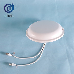 2.4GHz 2.5dBi MIMO WLAN Omni Ceiling Mount Antenna for Indoor Hotspot Coverage