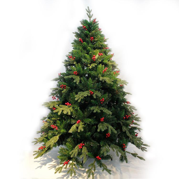 Xibao brand hot selling artificial PE christmas tree foldable metal frame Xmas  tree giant Indoor christmas - Xibao Brand Hot Selling Artificial Pe Christmas Tree Foldable Metal