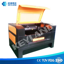 Desktop double head fabric invitation card flatbed 50w laser cutting / cuting machine / equipment 1390 1612 1325 best price