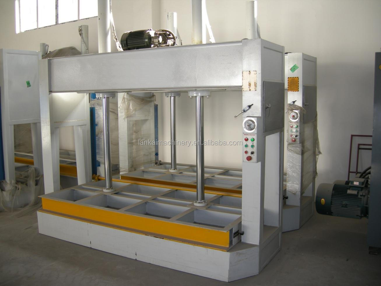 Professional Woodworking Cold Press Machine Wood Door