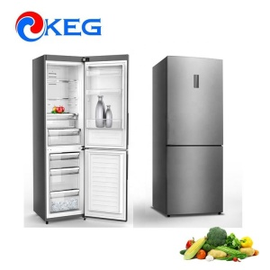 298L Frost Free Electronic Kitchen Double Sided Refrigerator with LED Display