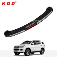 Durable abs plastic car rear bumper protector for isuzu mu-x