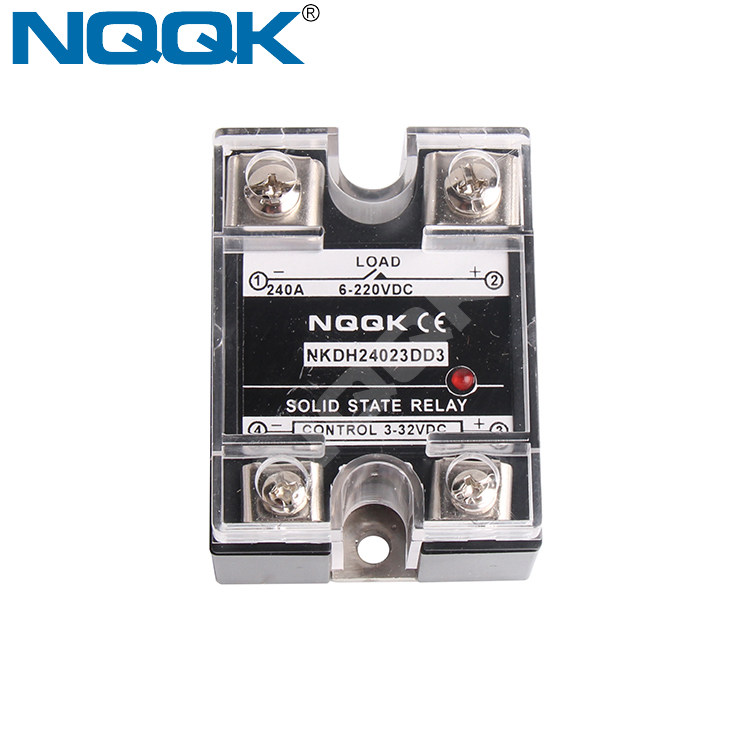 Nqqk 120a 240a 380v Ac Dc Ssr Potentiometer Voltage Solid State Relay Potentiometer Wiring Relay Dc on