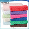China manufacturer 100% polyester minky dot fabric korean