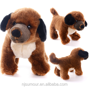 Delivery USA Simulation Stuffed Animal Dog Dolls Plush Toys Birthday Gifts For Kids Children Collection