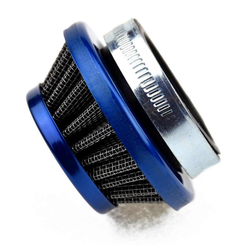 HIAORS 44mm Blue Air Filter Cleaner for Goped 23cc Sport Iquimatic G23LH G2D Bigfoot 47cc 49cc Pocket Bike