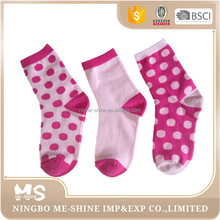 Wholesale OEM Cartoon Young Girl Teen Tube Socks