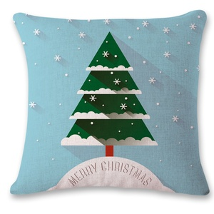 The new digital printed pillow comes with an led Christmas tree and cockpit Christmas cushion