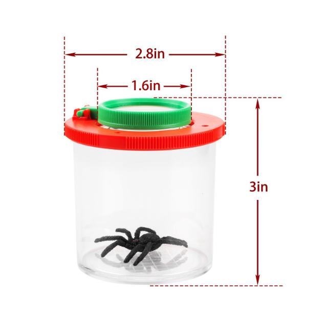 1 Pcs insectes Bug Viewer Loupe t/él/éspectateurs pour Enfants /éducatifs pour enfants