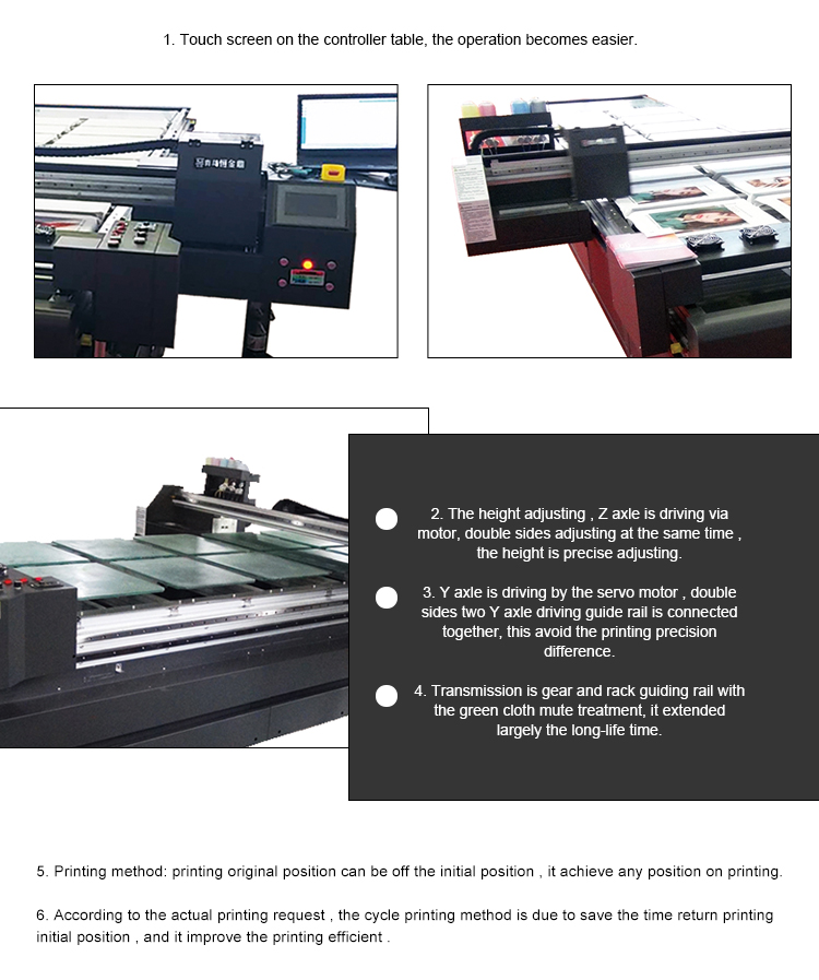 The Flatbed Textile Multicolor T Shirt Digital Printer Price Fabric Digital Printer Printing Machine