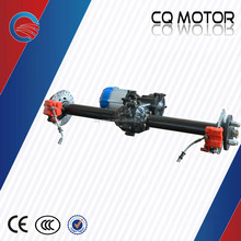 48V tricycle differential for passenger, tricycle rear differential axle, 48V eletric motor for trike