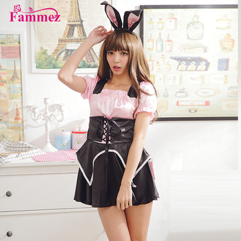 chinese supplier d009 easter bunny costume bunny costume for halloween cosplay party