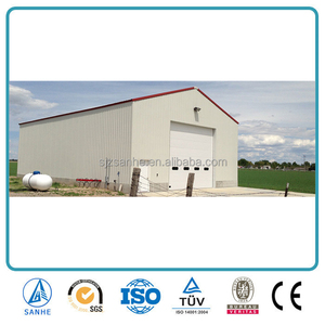 Prefabricated Agricultural Galvanized Steel Structure Greenhouse Buildings
