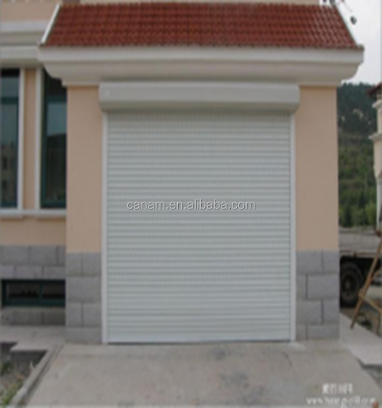rolling door and window