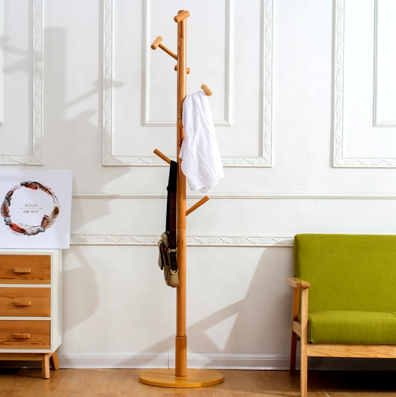 cheap living room wooden clothes trees