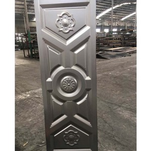 stamped steel door skin sheet for building molded stamped galvanized hot rolled cold rolled steel metal door face