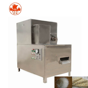 hot sale small rice flower popped machine/candied cake of popped rice extrusion swelling machine