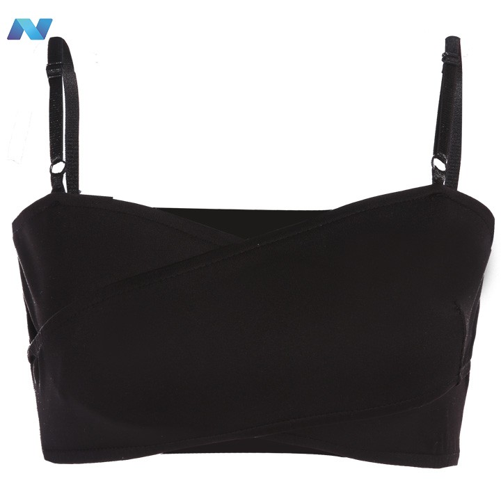Stylish Lady Women Sexy Strap Vest Cross Banded Stretch Crop Tops V-Neck Short Casual Sports Bustier Tops