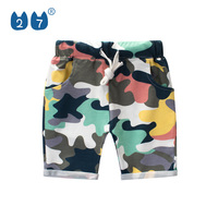 2019 Hot sale style boy's summer board shorts with nice camo printing